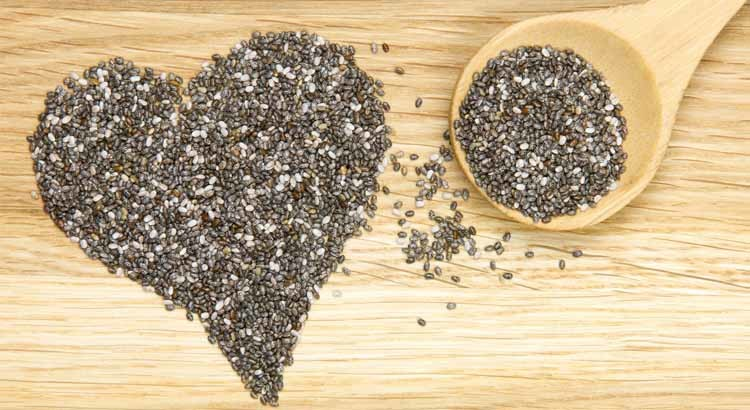 Nutritional health benefits of chia seeds
